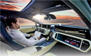 Vision of self-driving cars